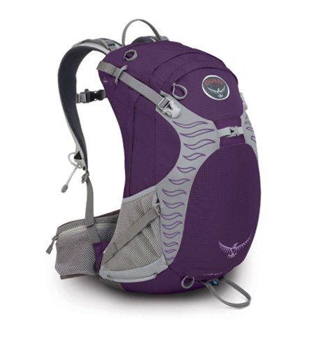 Osprey Sirrus 24-Litre Backpack (Amethyst, Small), Outdoor Stuffs