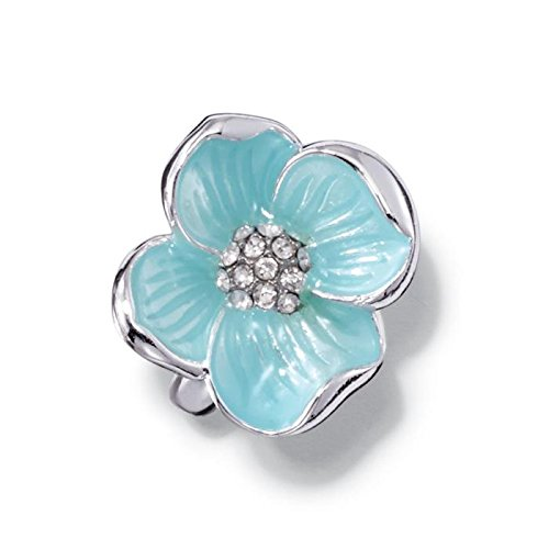 Avon Garden Beauties Collection Flower Ring - Silver - Size 6 Avon And Flower Ring