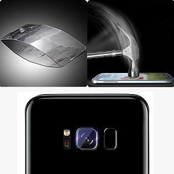 d6fe6e8b35d Donkeyphone S22S8P31000 - Protector de Lente de cámara Cristal Vidrio  Templado Ultra Fino para Samsung Galaxy S8 Plus, Transparente: Amazon.es:  Electrónica