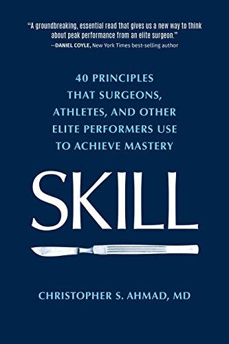SKILL principles surgeons athletes performers ebook product image