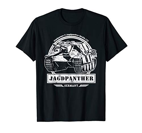 Jagdpanther T-Shirt WW2 German Tank -