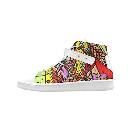 Scarpe Da Ginnastica Popolari Popart Gocce Scarpe Da Donna Punta Rotonda Boost Sneaker