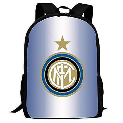 Italy Serie A Inter Milan Team Emblem Backpack kids School Bag children Book Bag Boy girl Student Teenagers Unisex