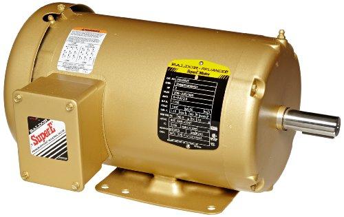 Baldor EM3558T General Purpose AC Motor, 3 Phase, 145T Frame, TEFC Enclosure, 2Hp Output, 1755rpm, 60Hz, 208-230/460V (2hp Ac Motor)