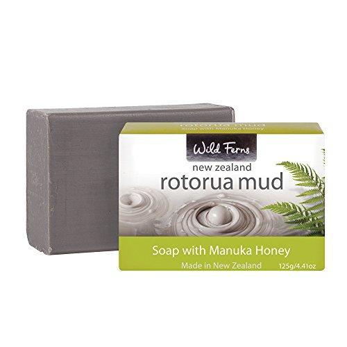 Wild Ferns Rotorua Mud and Manuka Honey Soap 125gr/4.41oz