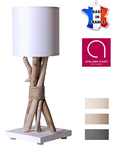 Bo Ecume Time Lampe De Table En Flotté Chevetde Bois MUGzSVpq