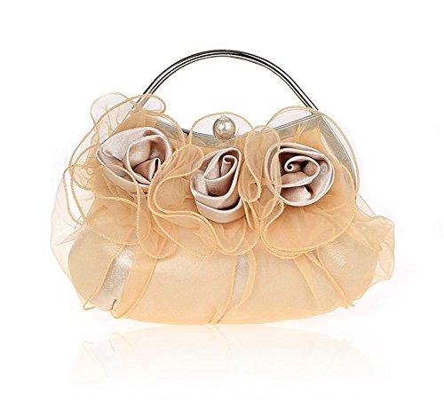 Sra flores bolso/bolsos exquisitos/paquete de novia/paquete de banquete de la moda/bolsos de noche de alto grado/paquete de vestido de dama-C B
