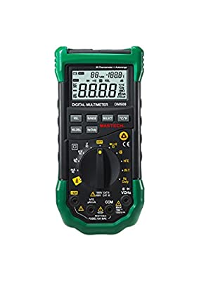Mastech DM500 Auto Ranging Digital Multimeter with Infrared Thermometer