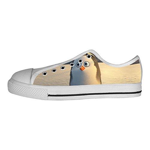 Sitio Oficial De Precio Barato Custom Pinguino Mens Canvas shoes I lacci delle scarpe in Alto sopra le scarpe da ginnastica di scarpe scarpe di Tela. El Mejor Barato Venta 2018 Barato Más Reciente Venta De Descuento Comprar Barato El Precio Más Barato iABTqgk