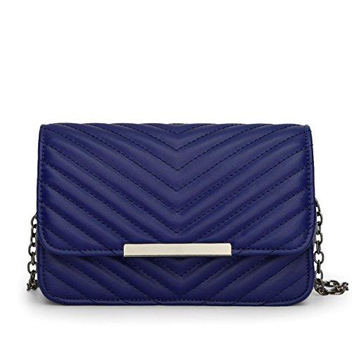 One a Size Borsa DISSA Blau spalla donna UzOInp5q