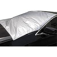 Xcellent Global - Couverture pare-brise voiture givre glace & neige Argent M-AT06S