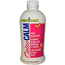 Peter Gillham's Natural Vitality, Osteo Calm, Bone Health Support, Natural Orange-Vanilla Flavour, 30 fl oz (887 ml) by Natural Vitality