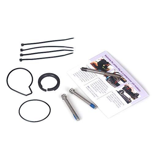 Jonathan-Shop - Air Suspension Compressor Pump Seal Repair Kit For BMW X5 E53 For VW Touareg For Landrover Discovery II