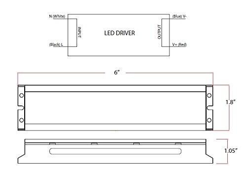 LED High Bay Lighting Fixture 165 Watt 22020 Lumen