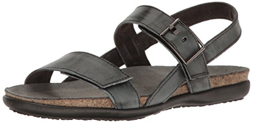 Naot Footwear Women's Norah, Vintage Smoke Leather, 42 (US Women's 11) M (Footwear Vintage Leather)