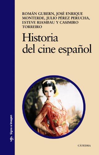 Descargar Libro Historia Del Cine Español Román Gubern