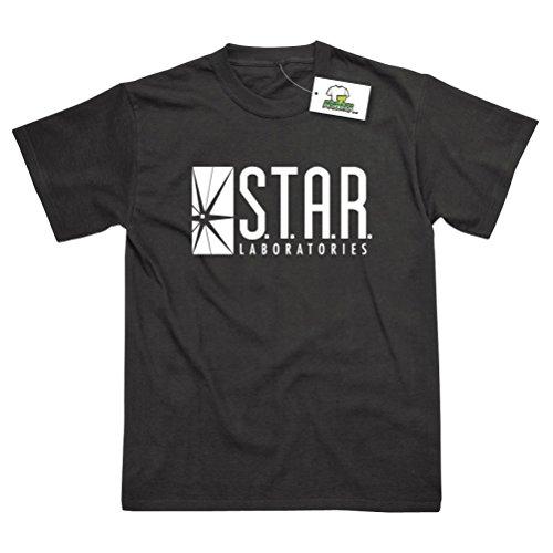 Postees Herren T-Shirt schwarz schwarz