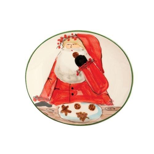 Vietri Old St Nick Cookie Plate OSN-7839 by VIETRI