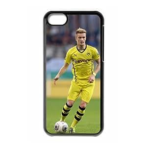 IPhone 5C Phone Case for Classic theme BVB 09 Marco Reus pattern design GQCTMRS758136