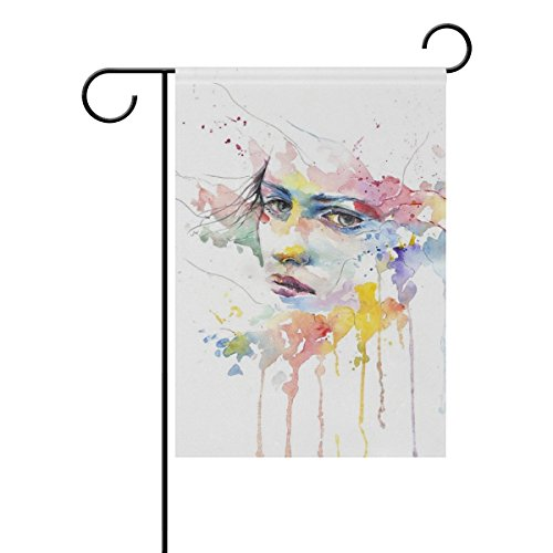 Home Decorative Outdoor Double Sided Man People Girl Woman W