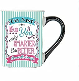 I'm Just Like You Only Smarter & Better Looking Mug, Humor Coffee Cup, Ceramic Gifts For Her Humor Mug, Custom Gifts By Tumbleweed