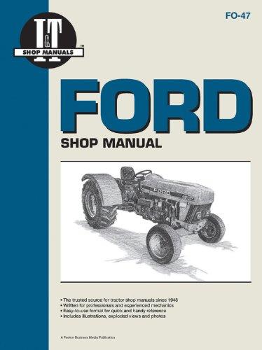 Ford Shop Manual Models3230 3430 3930 4630+ (I & T Shop Service ()