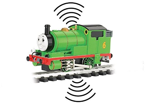 Train Locomotive Thomas & Friends DCC Sound Locomotive Percy (With Moving Eyes) Large Scale