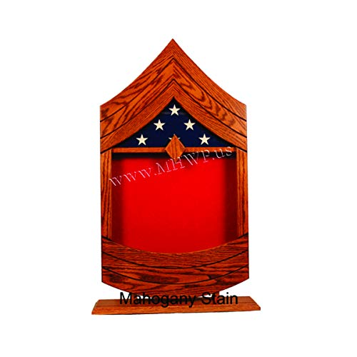 E-8-USMC-Master-Sergeant-MSgt-Shadow-BoxRetirement-Display
