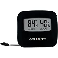 AcuRite 02067M Digital Thermometer with Humidity & Wired Temperature Sensor