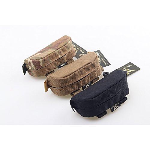 Warrior Quest Anti-Shock 1050D Nylon Molle System Sunglasses Pouch - Sunglasses Bag Cases Eye Glasses Box Holder ( Semi-Hard Case - Sunglasses Cheaper