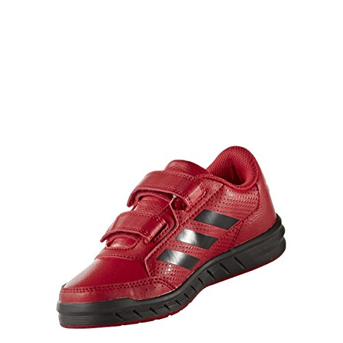 Adidas Altasport Mufc CF K, Scarpe Indoor Multisport Unisex – Bambini, Rosso (Rojrea/Neguti/Ftwbla), 29 EU