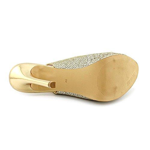 Guess - Zapatos de vestir para mujer dorado
