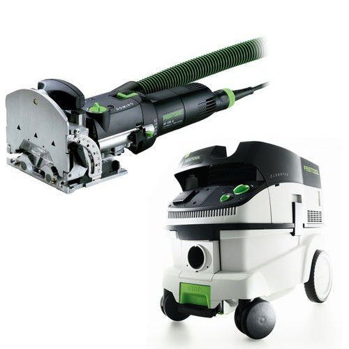 Festool DF 500 Q Domino Set with T-LOC + CT 26 Dust Extractor Package by Festool