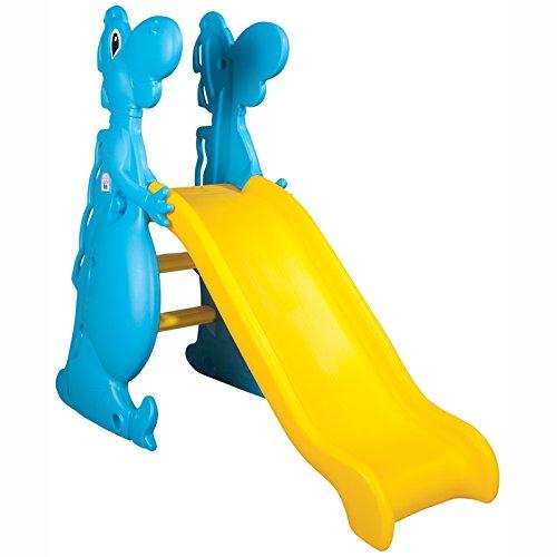 Pilsan Kinderrutsche Dino 06198, 140 cm Rutschlänge, wetterfest, bis 50 kg