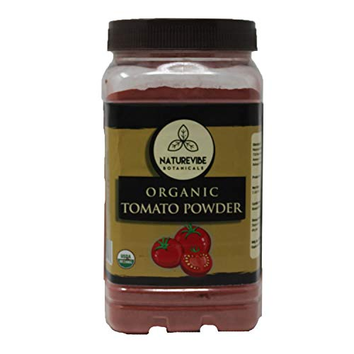 Naturevibe Botanicals Organic Tomato Powder (1lb) (16 ounces),Non GMO | Boosts Digestion| Adds flavour and taste.
