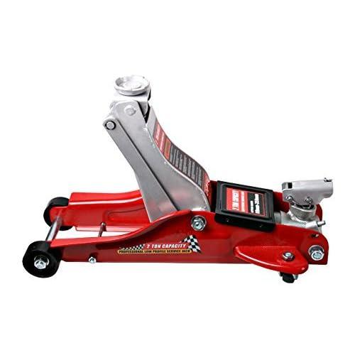 SPEED Cric Hydraulique Rouleur 2T Professionnel, cric rouleur 2 tonnes, Hauteur de levage 89 à 359mm delicate