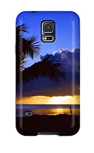 Durable Amazing Sunset Back Case/cover For Galaxy S5