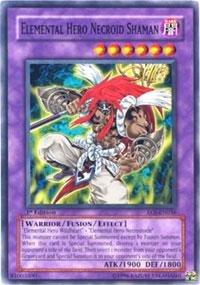 Yu-Gi-Oh! - Elemental Hero Necroid Shaman (EOJ-EN036) - Enemy of Justice - 1st Edition - Common