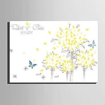 Ch Ch E Home Personalisierte Fingerabdruck Gemälde Leinwand Prints