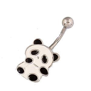 Cute Panda Bear Belly Ring
