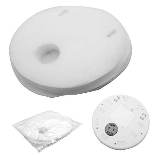 20 pcs Cleaning Tissue Refill For 7inch Smart Automatic Cleaner Robot Microfiber