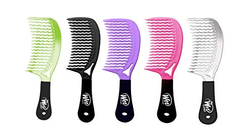 (Wet Brush Detangling Hair Comb - Metallics Collection (Colors May Vary))
