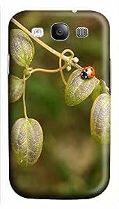 leather Samsung S3 case Single Ladybug Animal 3D cover custom Samsung S3 WANGJING JINDA