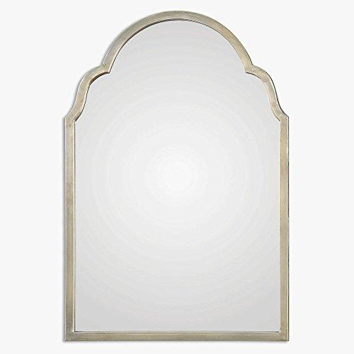 Uttermost 12906 Brayden Petite Arch Mirror, Silver from Uttermost