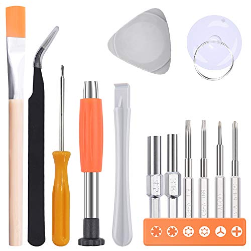 Screwdriver Set for Nintendo Switch and Joy con Controllers, Security Screw Driver Game Bit Set Repair Kit with Pry Opening Repair Tool(8PCS)