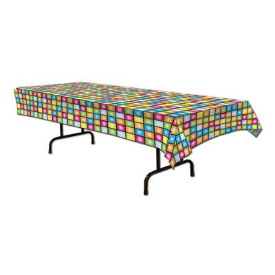 Disco Tablecover Party Accessory (Value 3-Pack) by Beistle