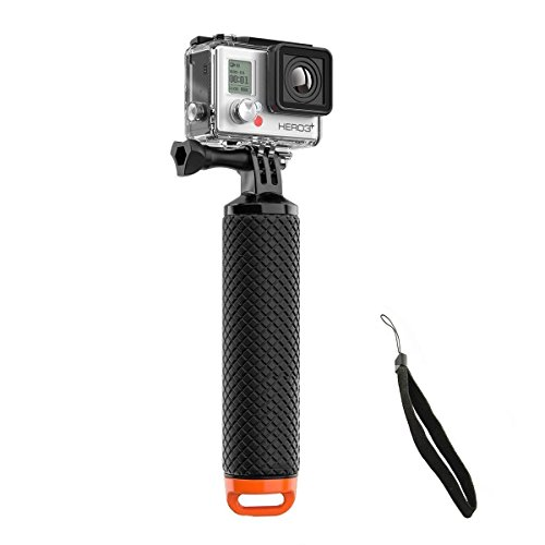 (Mystery Waterproof GoPro Handheld Underwater Sport Selfie Stick Monopod Pole Floating Hand Grip (Handle Grip) Diving Handle Tripod Mount for GoPro HD Hero SJCAM AKASO Geekpro Xiaomi Yi Action Cameras)
