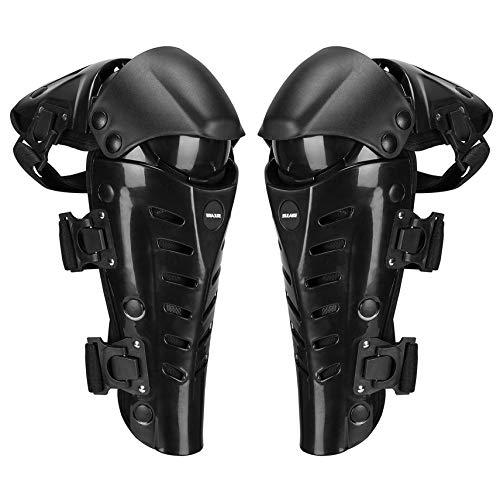 1 Par Motocicleta Rodilleras Proteger Motocross Motociclismo Montar Racing Equipo de protección Proteger Deporte al Aire Libre Seguridad Pads Guardias Yundref