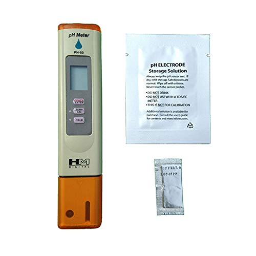 6 pH Buffer Powder Packets Pool Wine Kombucha Best Tool for Testing PH of Fish Tank Pond Drinking Water PH Meter with Automatic Calibration 7Pros High Accuracy Pen Type Water Quality Tester