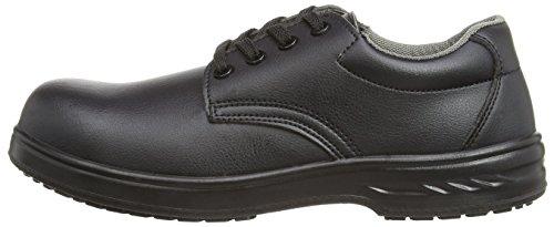 Portwest FW80 - Zapato de cordones de seguridad S2, color Blanco, talla 48 negro - Schwarz